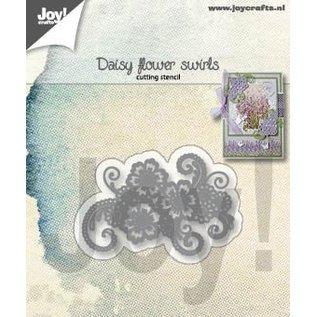 Joy!Crafts Snijstencil - Daisy Bloemen-swirls