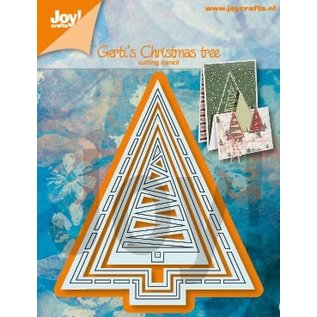 Joy!Crafts Snijstencils - Gerti's Kerstbomen 2