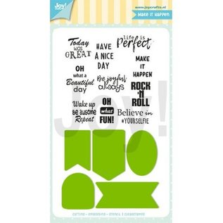 Joy!Crafts Snijstencil - Jocelijne - Labels/Tekst