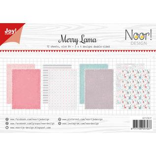 Joy!Crafts Papierset - Noor - Design Merry Lama