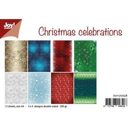 Joy!Crafts Papierset - Design Christmas Celebrations