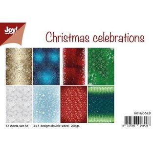 Joy!Crafts Papierset - Design Christmas Celebrations
