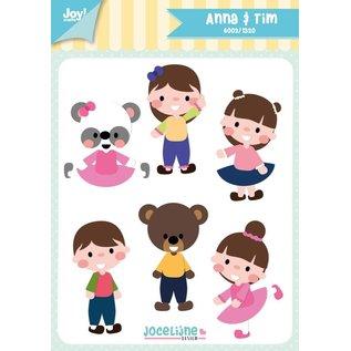 Joy!Crafts Snijstencil - Jocelijne - Anna&Tim