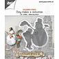 Joy!Crafts Cut-emboss-debossdie -  Anton Pieck - Boy with snowmen