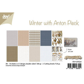 Joy!Crafts Paperset - Design - Winter with Anton Pieck