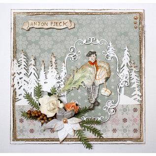 Joy!Crafts Cut-debossdie -  Anton Pieck - Boy with Christmastree
