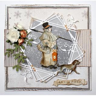Joy!Crafts Cut-emboss-debossdie -  Anton Pieck - Warder with dog