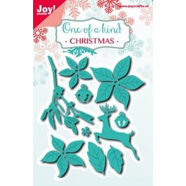 Joy!Crafts Snij-embosstencil - Kerstset 10st