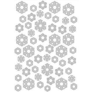 Joy!Crafts Embosstencil polybesa sneeuwvlokken