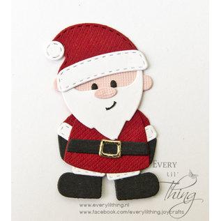 Joy!Crafts Snijstencil - Jocelijne - Kerstman