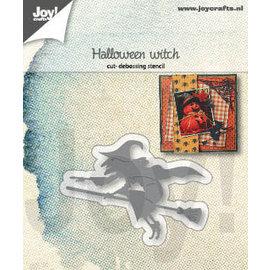 Joy!Crafts Snij-debosstencils - Halloween heks