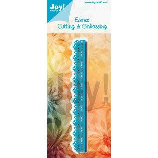 Joy!Crafts Snij-embosstencil - Noor - Blauwe randmal
