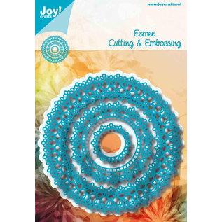 Joy!Crafts Snij-embosstencil - Noor - Doily rond