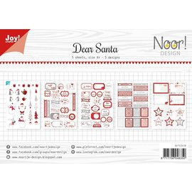 Joy!Crafts Labelvellen/knipvel - Noor  - Dear Santa