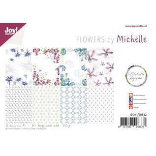 Joy!Crafts Papierset - Design - Michelle's flowers