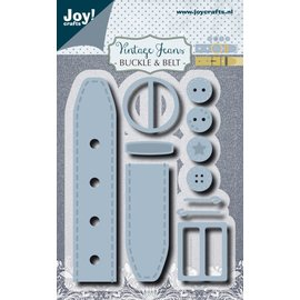 Joy!Crafts Vintage Jeans Buckle & Belt