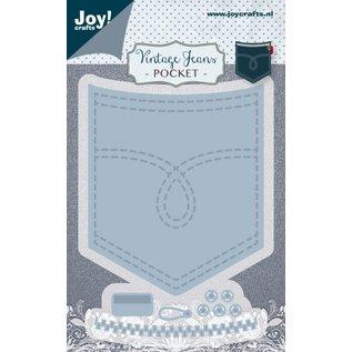 Joy!Crafts Vintage Jeans Pocket