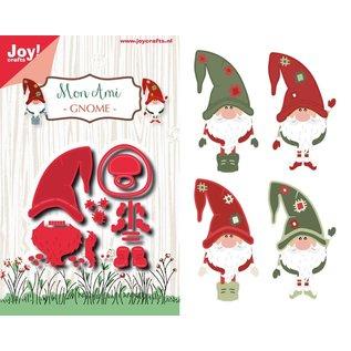 Joy!Crafts Snij-embosstencil - Noor -  Mon Ami - Dwerg