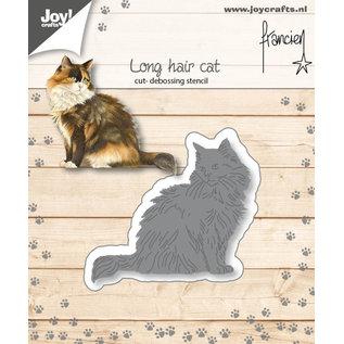 Joycrafts Cut-embossdies - Francien - Longhair cat