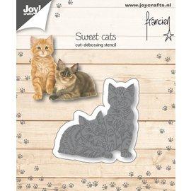 Cut-embossdies - Francien - Two cats