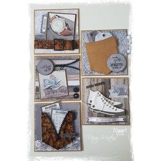 Joy!Crafts Labelvellen Vintage Jeans