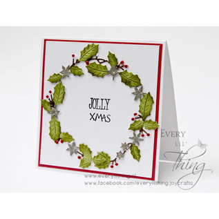Joy!Crafts Snij-embosstencils - Jingle Bells - Guirlande krans