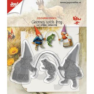 Joy!Crafts Colour-snijstencil - R. Poortvliet - Kabouters-kikker