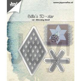 Joy!Crafts Snijstencil - Bille's 3D-ster