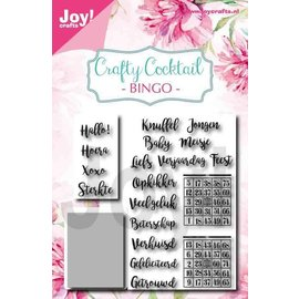 Joy!Crafts Stencil&Stempelset - Noor - CC - Bingo