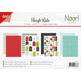 Joy!Crafts Papierset - Noor - Sleigh Ride