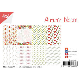 Joy!Crafts Papierset -  Autumn bloom
