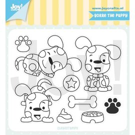 Joy!Crafts Clearstamps -Jocelijne- Borre de puppy