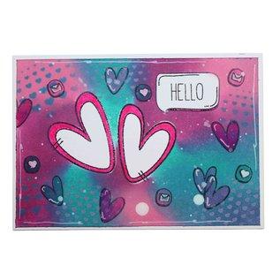 Joy!Crafts Scrap clearstempel - Noor - Hello