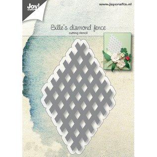 Joy!Crafts Snijstencil - Bille's Raster-element Diamant