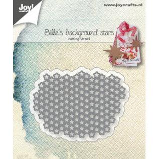 Joy!Crafts Snijstencil - Bille's Sterrenachtergrond