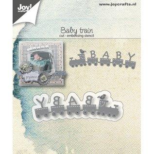 Joy!Crafts Snij-emboss stencils - Baby-trein
