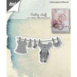 Joy!Crafts Snij-emboss-debosstencil - Baby-waslijn