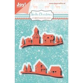 Joy!Crafts Snijstencil - Noor - NC - Kerst-dorp