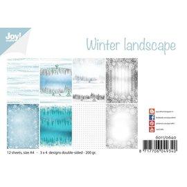 Joy!Crafts Papierset -  Winter landscape