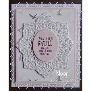 Joy!Crafts Snijstencil - Noor - Lovely Oval