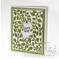 Joy!Crafts Snij-debosstencil - Achtergrond bladeren
