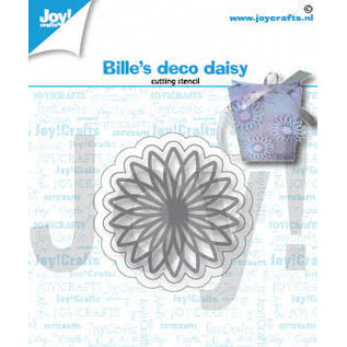 Joy!Crafts Snijstencil - Bille's  Deco Daisy