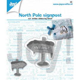 Joy!Crafts Snij-emboss-debosstencil - Noordpool bord
