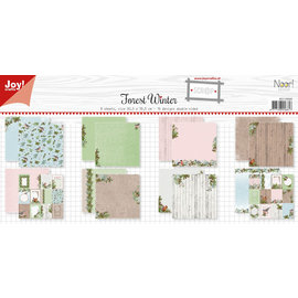 Joy!Crafts Papierset scrap -  Noor - Design Forest Winter
