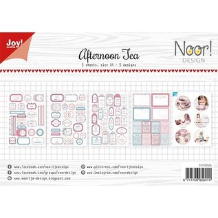 Joy!Crafts Labelvellen/knipvel - Afternoon tea