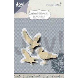 Joy!Crafts Snij-embosstencil - Seagulls (Zeemeeuwen)