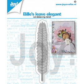 Joy!Crafts Snij-debosstencil - Bille's blad elegant