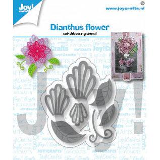 Joy!Crafts Snij-debosstencil - Dianthus bloem