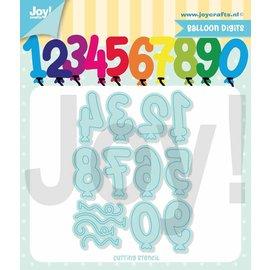 Joy!Crafts Snijstencil -  Jocelijne - Ballon cijfers