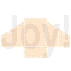 Joy!Crafts Polybesa-stencil - Kaartmodel geschulpt